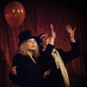 Malin & Zink uppträder på Skillinge Teater.  Fotograf: Tom Wall